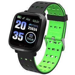 Фитнес-браслет часы A6, зеленый