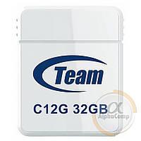 USB Flash 32Gb Team C12G USB2.0 (TC12G32GB01) white
