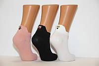 Женские носки короткие с вышивкой Ф3, фото 1