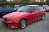 Дефлекторы окон, ветровики \ BMW seria 3,E36 3d 1990-1998 \ БМВ 3 серия купе \ RACING