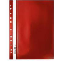 Папка-скоросшиватель Economix Light (Econom) А4, красная