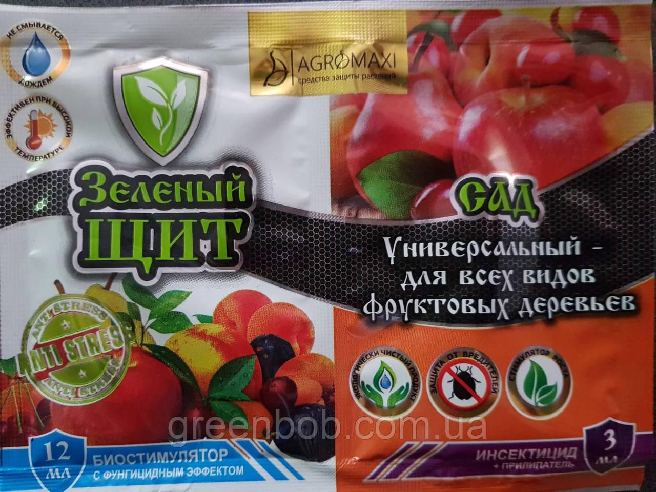 """СПАСАТЕЛЬ """"Зеленый щит"""" для сада универсальный - для всех видов фруктовых деревьев  3мл+12мл"""
