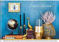 Альбом для рисования Школярик 40 л спираль 040-277