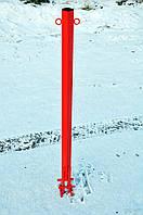 Столбик тротуарный под бетонирование 60х60, фото 1