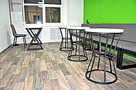 Столик круглый для кафе Диалог, фото 1