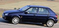Дефлекторы окон, ветровики \  FORD Fiesta 5d 1996-2000 (+OT) \ Форд Фиеста \  RACING