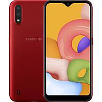 Мобильный телефон Samsung SM-A015FZ (Galaxy A01 2/16Gb) Red (SM-A015FZRDSEK)