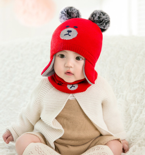 Дитяча шапка і снуд 6-24