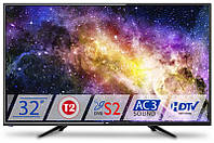 "Телевизор DEX LE3255TS2 (32"", LED, 1366x768, 50Гц, USB, Vesa(200x100), DVB-T2/S/C)"