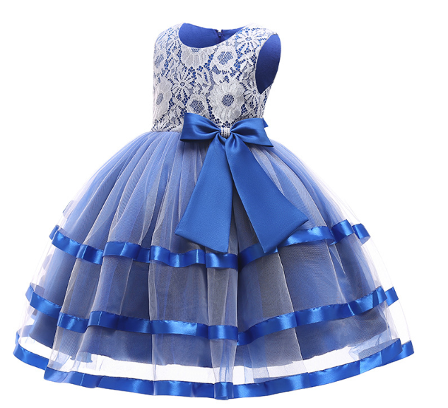 Незвичайне Ошатне мереживне електро сукня для дівчинки.Not ordinary Fancy lace electro dress for a girl2021