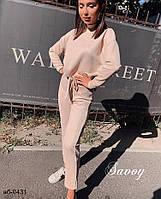 Женский стильный спортивный замшевый костюм Разные цвета, фото 1