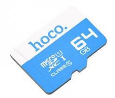 Карта памяти Hoco MicroSD 64GB Class 10
