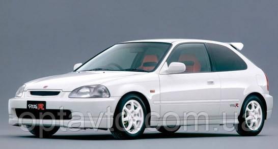 Дефлекторы окон, ветровики \  Honda Civic 3d htb EJ 10/1995-2000 \  Хонда Цивик хэтчбэк \ RACING