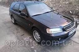 Дефлекторы окон, ветровики \  Honda Civic 5d 1995-2000 HTB\Combi \ Хонда Цивик универсал \ RACING