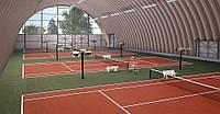 Построить крытый теннисный корт «под ключ»