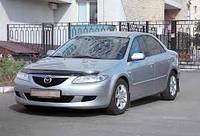 Дефлекторы окон, ветровики \  Mazda 6 4d 02r ltb \  Мазда 6 лифтбек \ RACING
