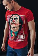 Футболка мужская Joker x red летняя   ЛЮКС качества, фото 1