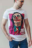 Футболка мужская Joker x white летняя | ЛЮКС качества, фото 1