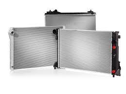 Радиатор охлаждения двигателя GOLF2/JETTA 16/18 MT +AC (Van Wezel). 58002041