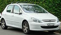 На передние двери. Дефлекторы окон, ветровики \ Peugeot 307 2001+