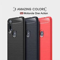 TPU чехол накладка Urban для Motorola One Action (4 цвета)