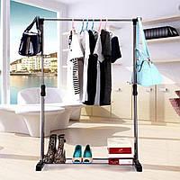 Телескопическая стойка-вешалка для одежды и обуви STENSON
