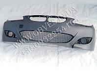 Передний бампер BMW 5-series E60 стиль M5 (под противотуманки)