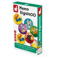 Настольная игра Janod мемо Риголо (J02736)