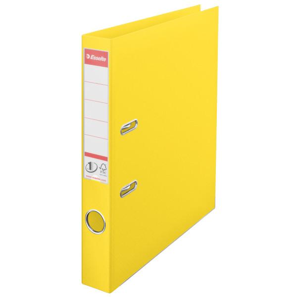 Папка-регистратор Esselte No.1 Power А4 50мм желтая, арт.811410