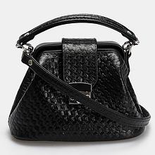 Миниатюрная женская кожаная сумочка Galvani VOYAGE MICRO