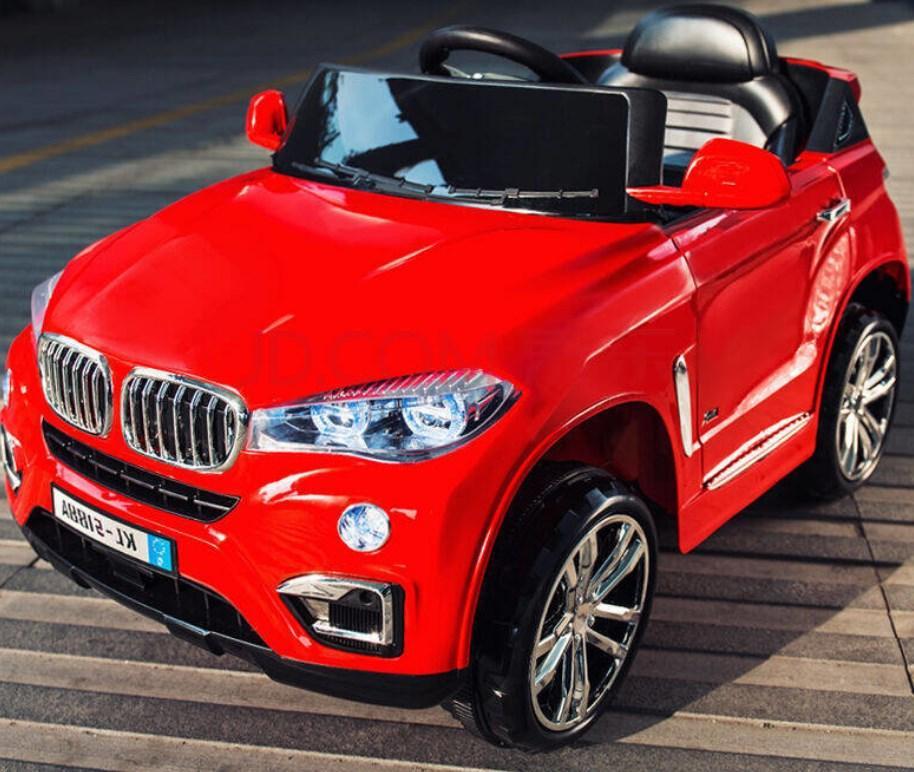 Детский электромобиль T-788 EVA RED джип, BMW, красный