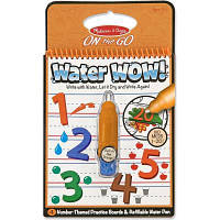 Набор для творчества Melissa&Doug Волшебная водная раскраска Цифры (MD5399)