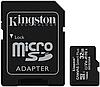 Карта пам'яті Kingston microSDHC 32GB Canvas Select Plus Class 10 UHS-I U1 V10 A1 + SD адаптер (SDCS2/32GB), фото 2