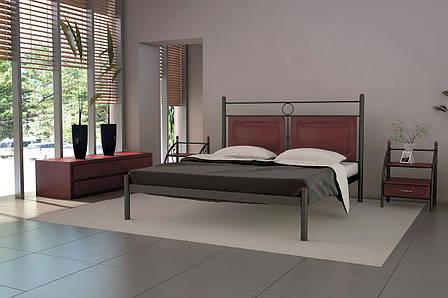 Кровать металлическая Николь ТМ МЕТАЛЛ-ДИЗАЙН, фото 2