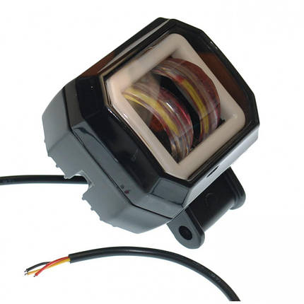 Светодиодная фара AllLight JR-O-20W КВАДРАТНАЯ 2 chip CREE spot 9-30V, фото 2