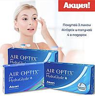 Air optix GG контактные линзы