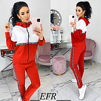 Весенний женский спортивный костюм (4 цвета) ЕФ/-512 - Красный
