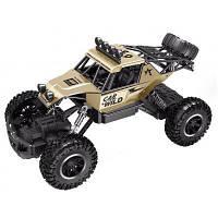 Радиоуправляемая игрушка Sulong Toys OFF-ROAD CRAWLER CAR VS WILD Золотой 1:20 (SL-109AG)