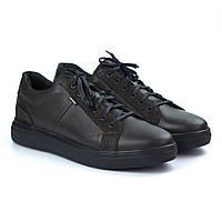 Зимові чоловічі кросівки шкіряні коричневі взуття демісезонне Rosso Avangard Puran Autumn Night Brown, фото 1