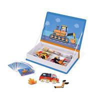 Развивающая игрушка Janod Магнитная книга Транспорт (J02715)