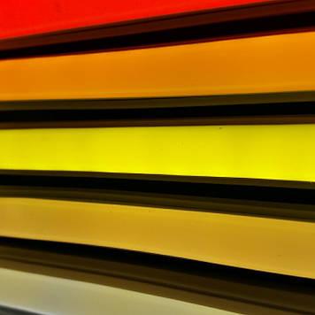 Комплект LED Neon Flex 12v 3м + блок питания 2А желтый