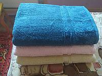 Махровий банний рушник вензель 70 на 140