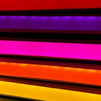 Комплект LED Neon Flex 12v 3м + блок питания 2А розовый