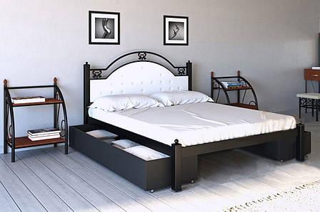 Кровать металлическая Эсмеральда ТМ МЕТАЛЛ-ДИЗАЙН, фото 2