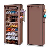 Полка для обуви с чехлом Shoe Cabinet 9 полок 160X60X30, тканевый стелаж для обуви