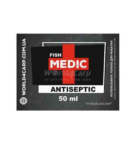 Антибактериальный спрей Antiseptic FISH MEDIC, 50ml, фото 2