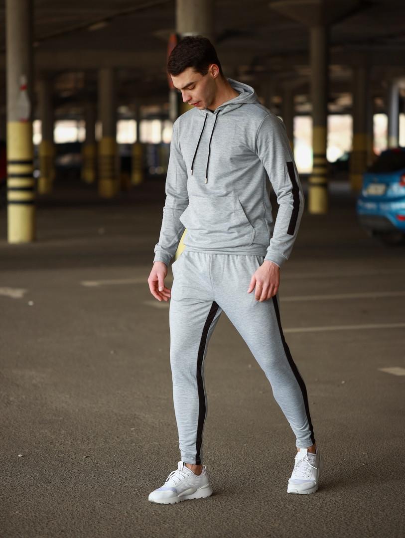 Мужской спортивный костюм Адмирал (серый)