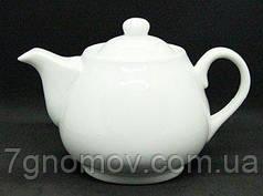 Чайник для заварювання та подачі білий Хілтон 600 мл арт. XS-3814