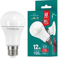 Лампочка Лед купить TITANUM LED A60 12W E27 4100K 220V