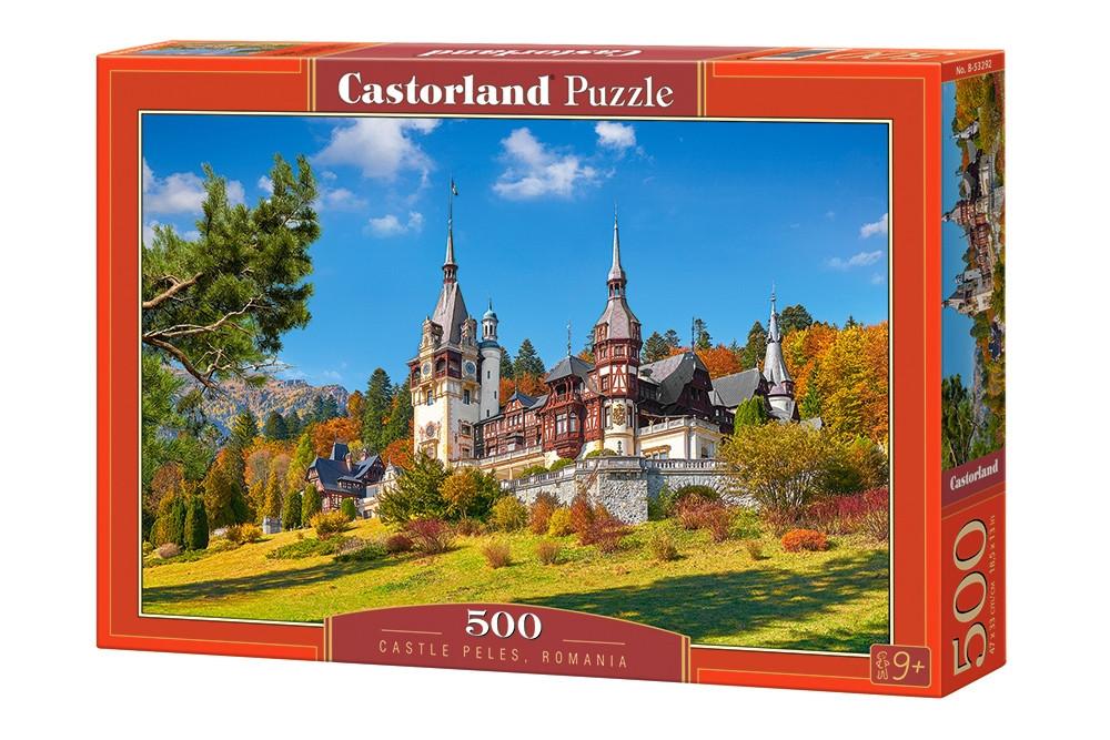 """Пазлы """"Замок"""", 500 элементов (с природой, пейзаж, с пейзажем, природа, лес, церковь, сельский пейзаж)"""